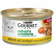 Gourmet natures mini bouchées poulet 85g
