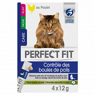 Perfect fit controle des boules de poils friandises pour chat sticks