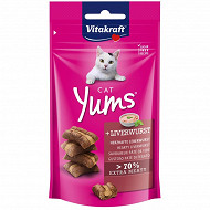 Vitakraft cat yums goût pate de foie chat 40G