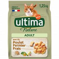 Ultima nature croquette chat poulet 1.25kg