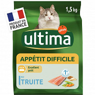 Ultima chat appétit difficile 1.5kg