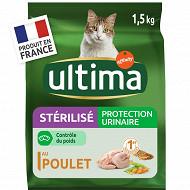 Ultima chat stérilisé protection urinaire 1.5kg
