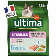 Ultima chats stérilisés sensible 1.5kg
