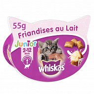Whiskas friandises au lait junior 55g