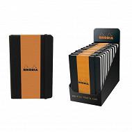 Rhodia carnet 90x140 mm 192 pages ligne web note book
