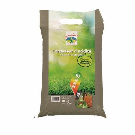 Correcteur d'acidité uab à base de coccolithes sac de 10kg
