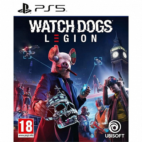 Jeu ps5 watch dogs legion