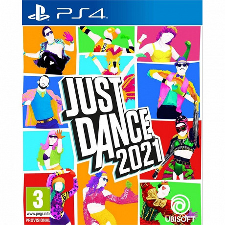 Jeu ps4 Just dance 2021