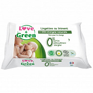 Love & green lingettes au liniment x56