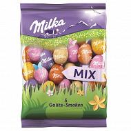 Milka petits oeufs mix 5 goûts 350g