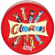Celebrations assortiment chocolat boîte métal 435g