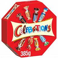 Celebrations assortiment chocolat boîte octogonale 385g