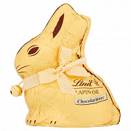 Lindt lapin or chocolat blanc 100g