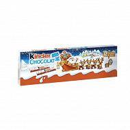 Kinder chocolat barrette étui 12 barres 150g
