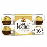 Ferrero rocher 16 bouchées boîte 200G