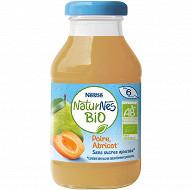 Nestlé naturnes bio boisson poire abricot 200 ml dès 6 mois