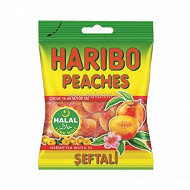 Haribo peaches halal 100g