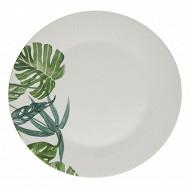 Assiette plate tropica 27 cm