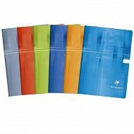 Clairefontaine cahier piqûre 21x29.7 cm petits carreaux 90 grammes