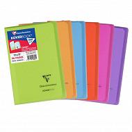 Clairefontaine - Kover book carnet piqure avec rabats 110*170 96p 5*5
