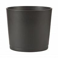 Deroma cache-pot 883 anthracite 17cm