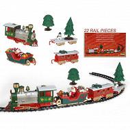 Train de noël 22 pieces