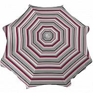Anjosa parasol 180/8/22/25 inclinable polycoton barbosa det 17 rouge