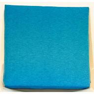 Anjosa galette carrée 38X38 epaisseur 5cm bleu aqualand