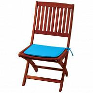 Anjosa galette carrée 38X38 epaisseur 3cm bleu aqualand