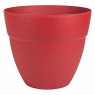Pot Cancun diam. 40 cm - rouge rubis contenance 28.30 litres