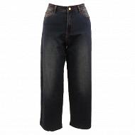 Pantalon denim large femme STONE T48