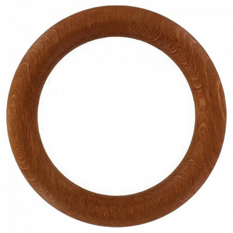 Anneaux x10 teck diamètre 35mm
