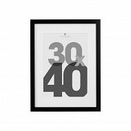 Cadre photo 30x40cm eva noir