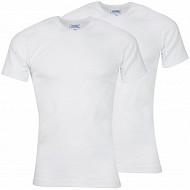 Lot de 2 tee-shirts manches courtes col v coton bio Athena 950 BLANC/BLANC T4
