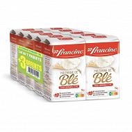 Francine blé 1kg lot x7 + 3 offerts