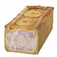 Pâté en croûte de jambon aux épices de noel et sa mousse