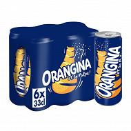 Orangina classique slim 6x33cl