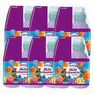 Cora kido boissons aux fruits multivitaminé 4x20cl