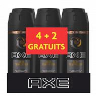 Axe déodorant parfumant Dark Temptation 6x150ml (4+2 gratuits)