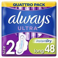 Always ultra serviettes long+ x48