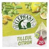 Eléphant infusion tilleul citron 20 sachets 28g