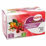 Cora harmony infusion zen 20 sachets soit 32g