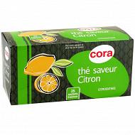 Cora thé saveur citron 25 sachets soit 40g