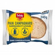 Schar pain campagnard sans gluten 240g