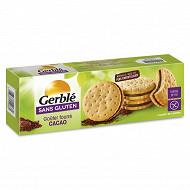 Gerblé goûter fourré cacao sans gluten 225g