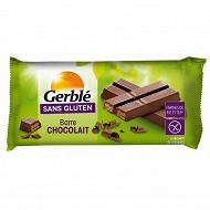 Gerblé barres chocolait sans gluten 107g