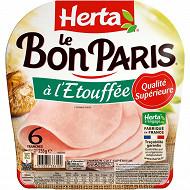 Herta le Bon Paris étouffée 6tranches 255g