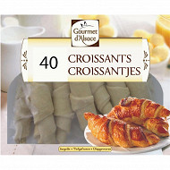 Gourmet d'Alsace 40 croissants 2kg