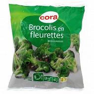 Cora brocolis en fleurettes 1kg