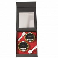 Coffret caviars : 2x30gr Osciètre (Acipenser Gueldenstaedtii)